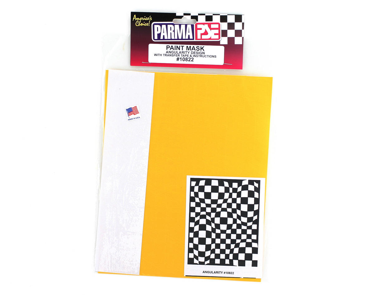Parma PSE Pre-Cut Paint Mask, Angularity Design