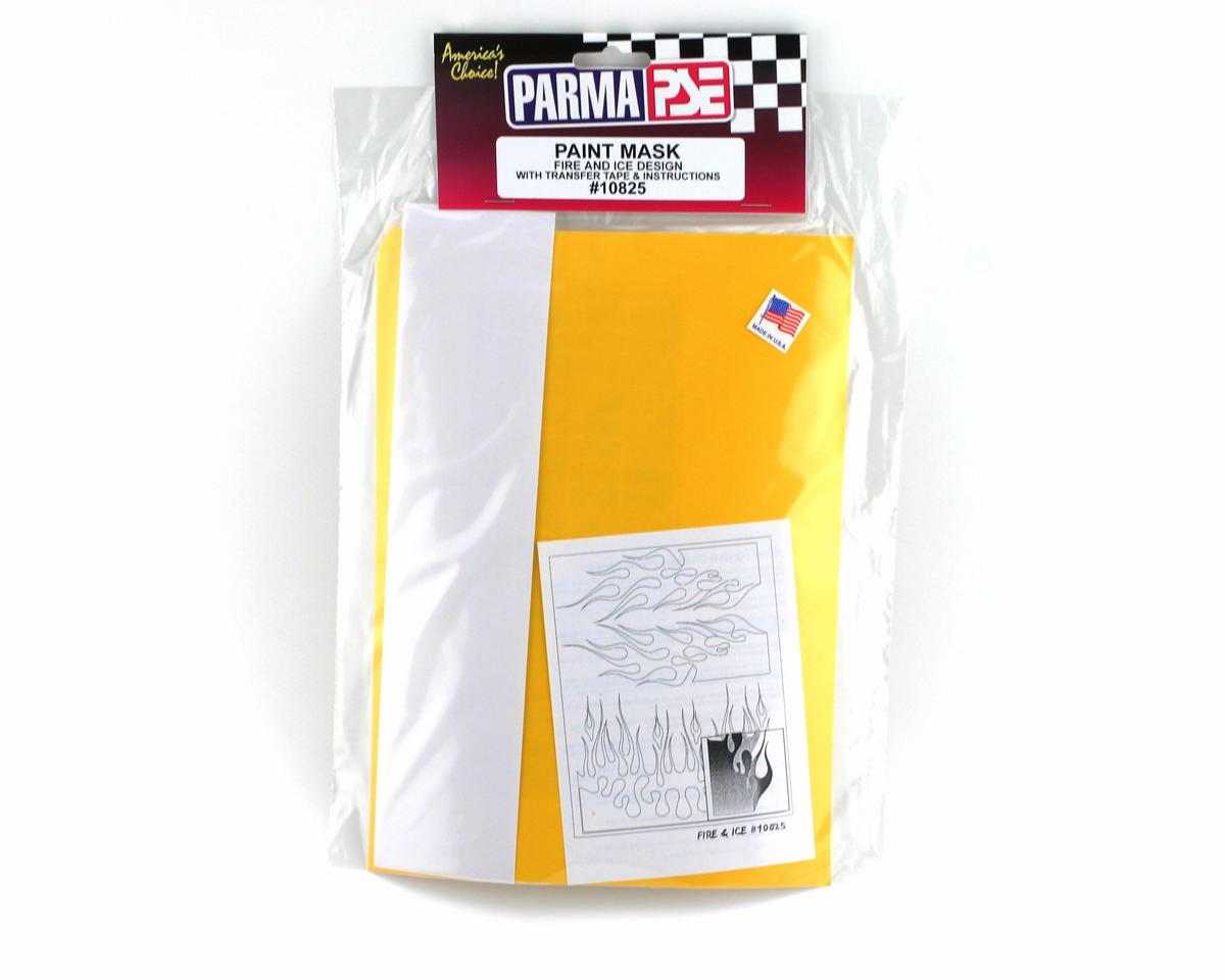 Parma PSE Pre-Cut Paint Mask, Fire & Ice Design