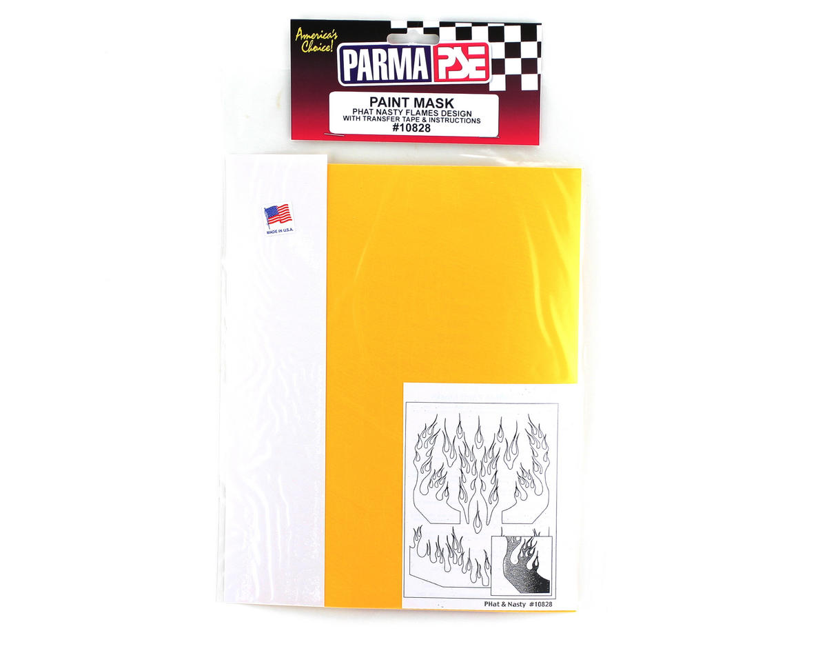 Parma PSE Pre-Cut Paint Mask, Phat Flames Design