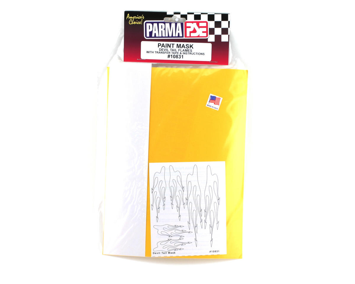 Parma PSE Pre-Cut Paint Mask, Devil Tail Design