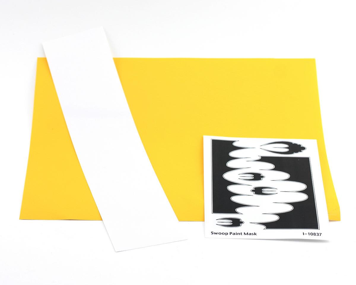 Parma PSE Pre-Cut Paint Mask, Swoop Design