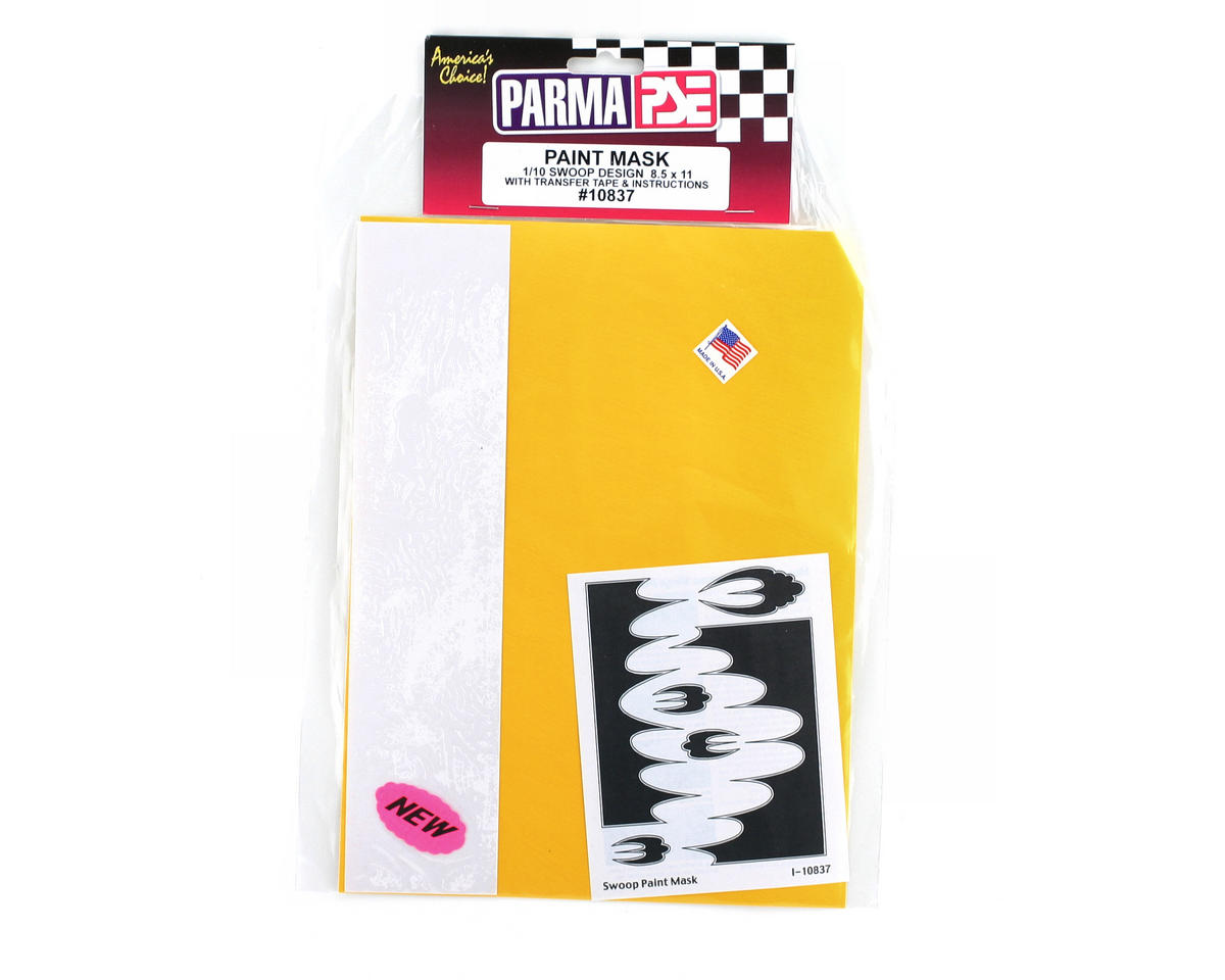Parma PSE Pre-Cut Paint Mask, Swoop Design
