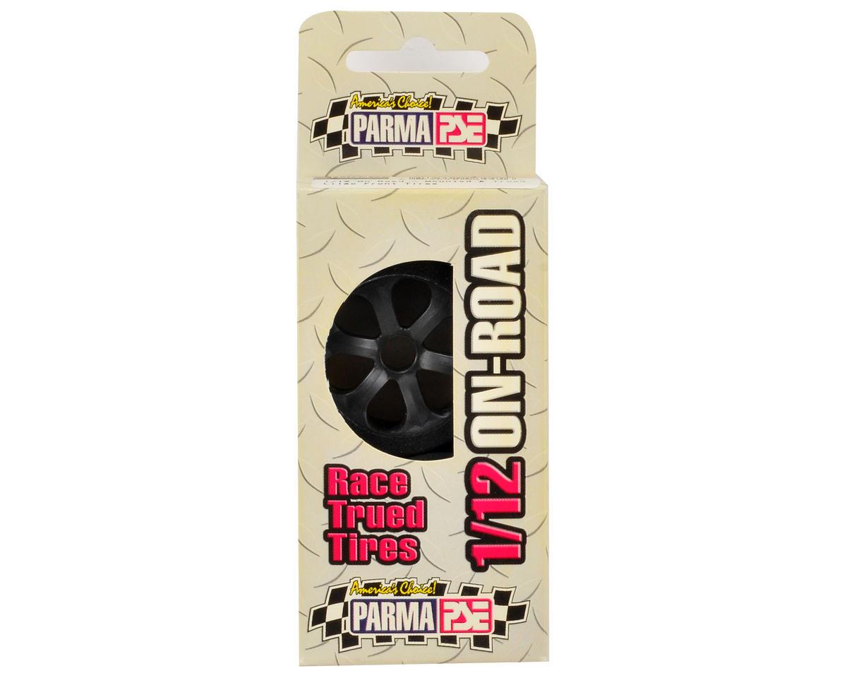 """Parma PSE """"Blackhawk"""" 1/12 Foam Front Tires (Lilac/#38) (2)"""