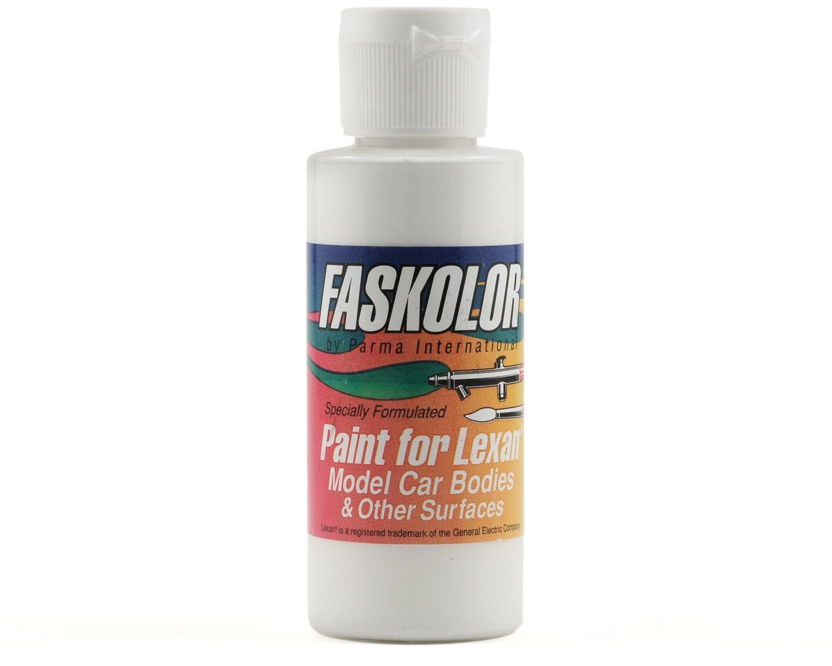 Parma PSE FasWhite Faskolor Lexan Body Paint (2oz)