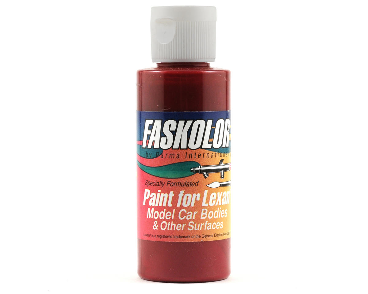 Parma PSE FasBurgandy Faskolor Lexan Body Paint (2oz)