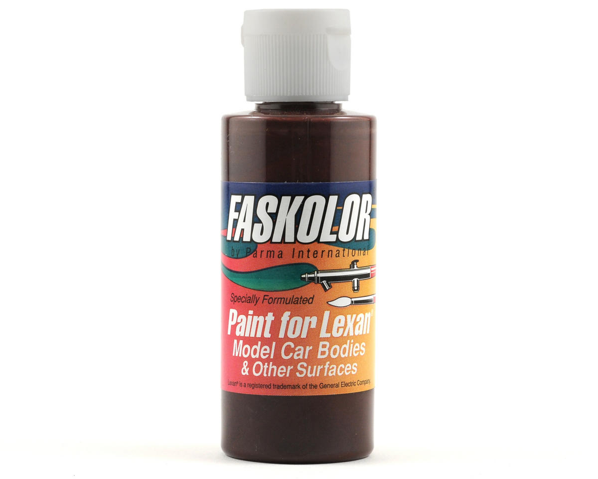 Parma PSE FasDark Brown Faskolor Lexan Body Paint (2oz)