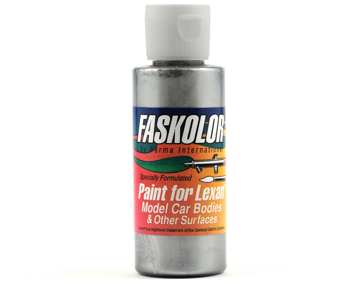 FasPearl Silver Faskolor Lexan Body Paint (2oz) by Parma PSE