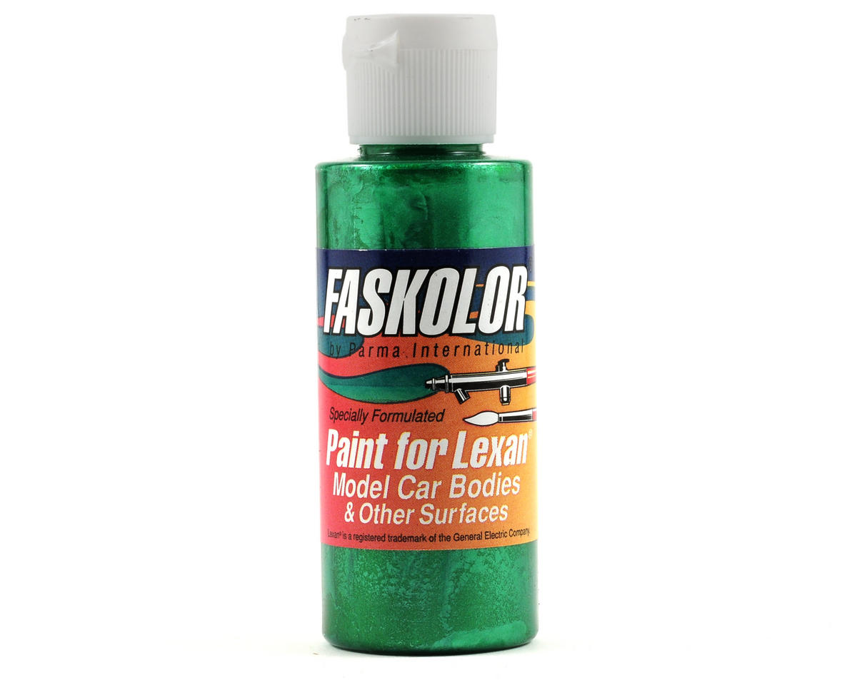 Parma PSE FasPearl Green Faskolor Lexan Body Paint (2oz)