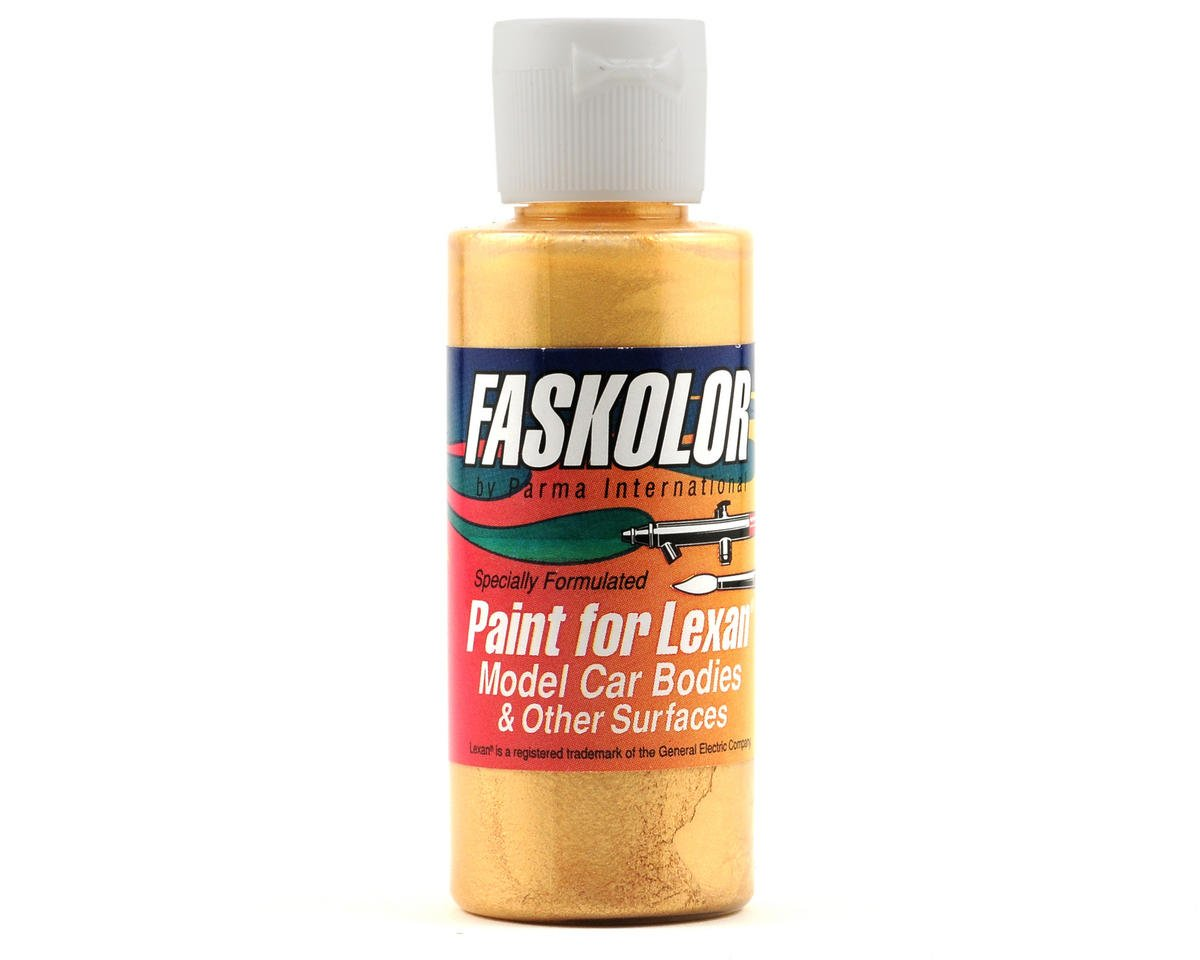 Parma PSE FasPearl Gold Faskolor Lexan Body Paint (2oz)