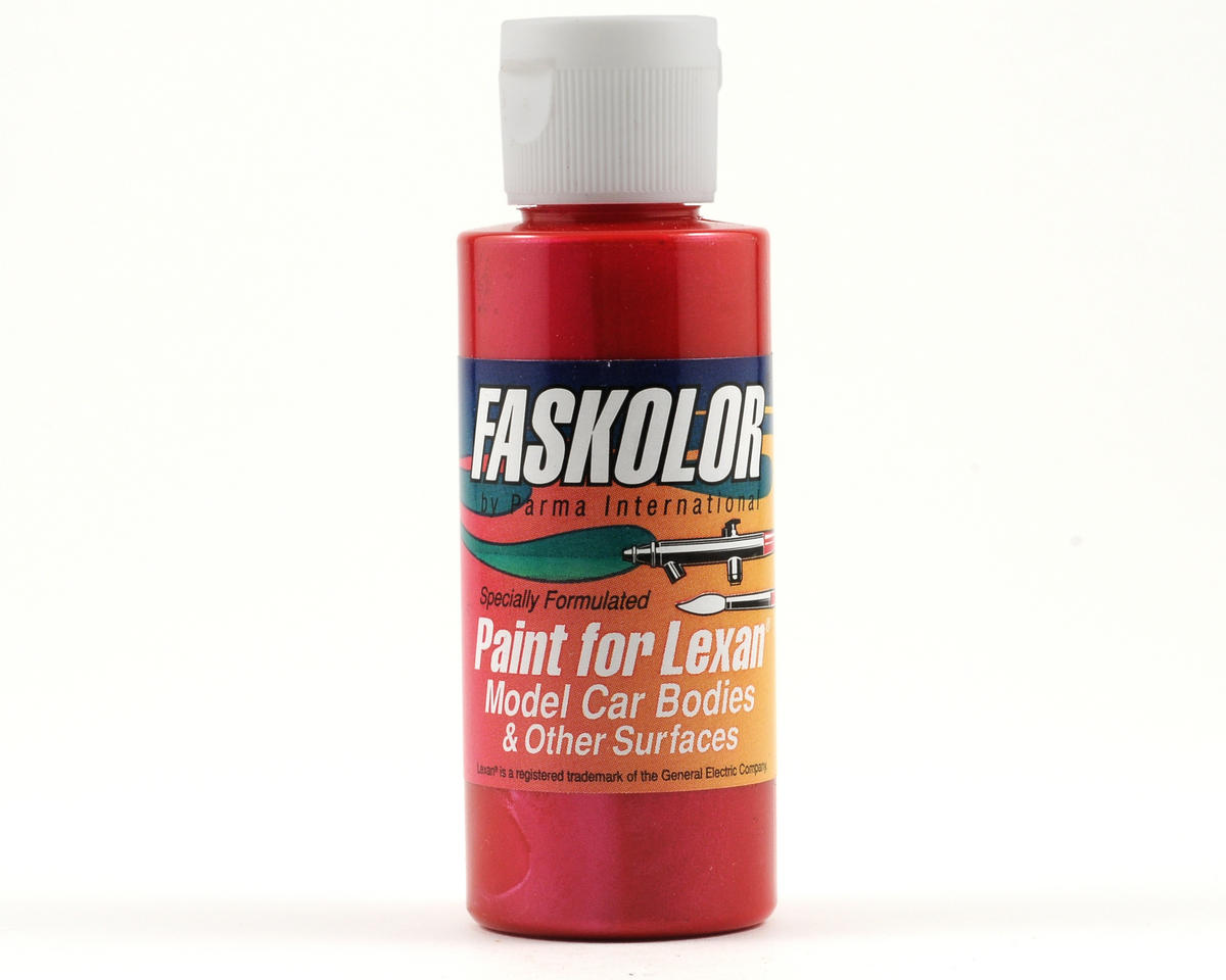 Parma PSE FasPearl Red Faskolor Lexan Body Paint (2oz)