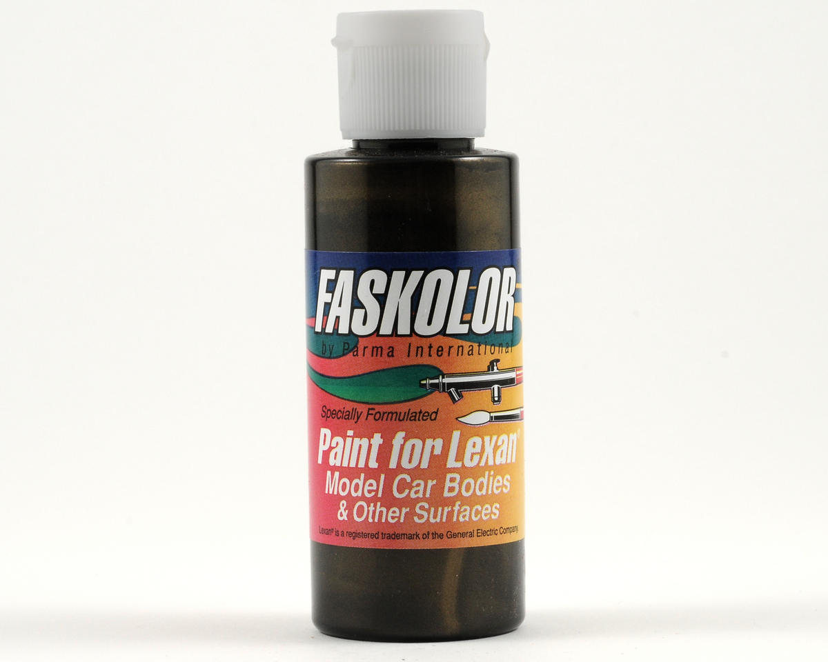 FasPearl Black Faskolor Lexan Body Paint (2oz) by Parma PSE