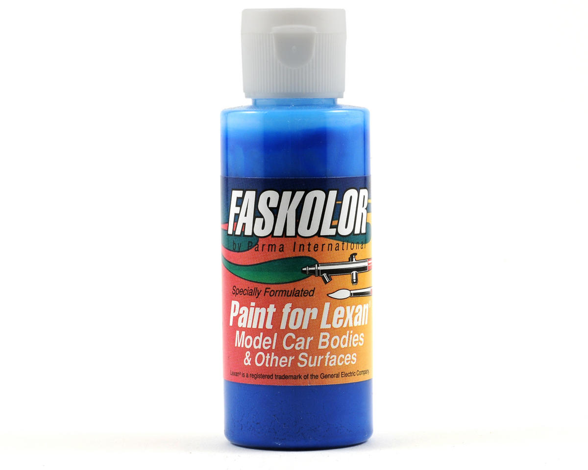 Parma PSE FasFluorescent Blue Faskolor Lexan Body Paint (2oz)