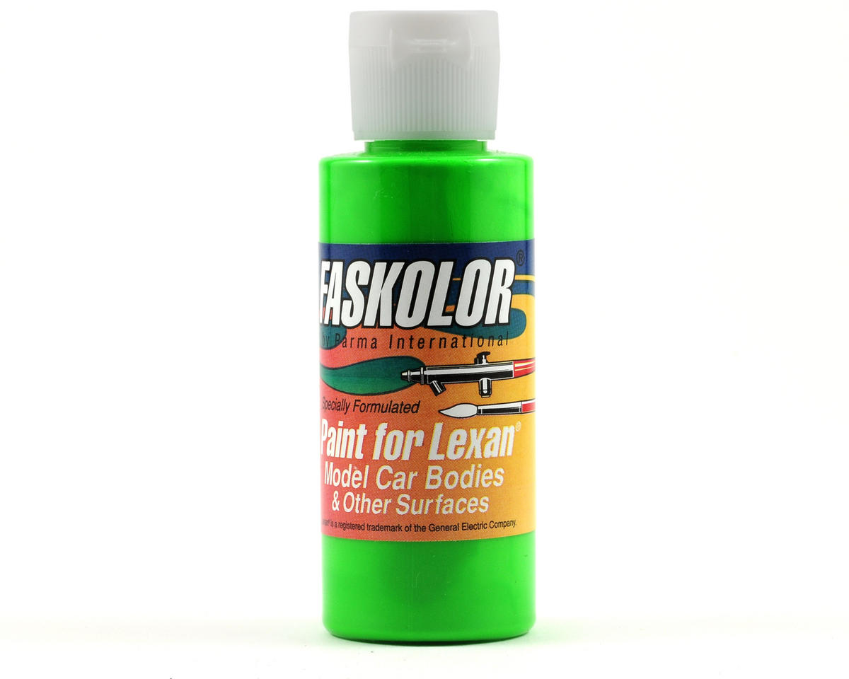 Parma PSE FasFluorescent Green Faskolor Lexan Body Paint (2oz)