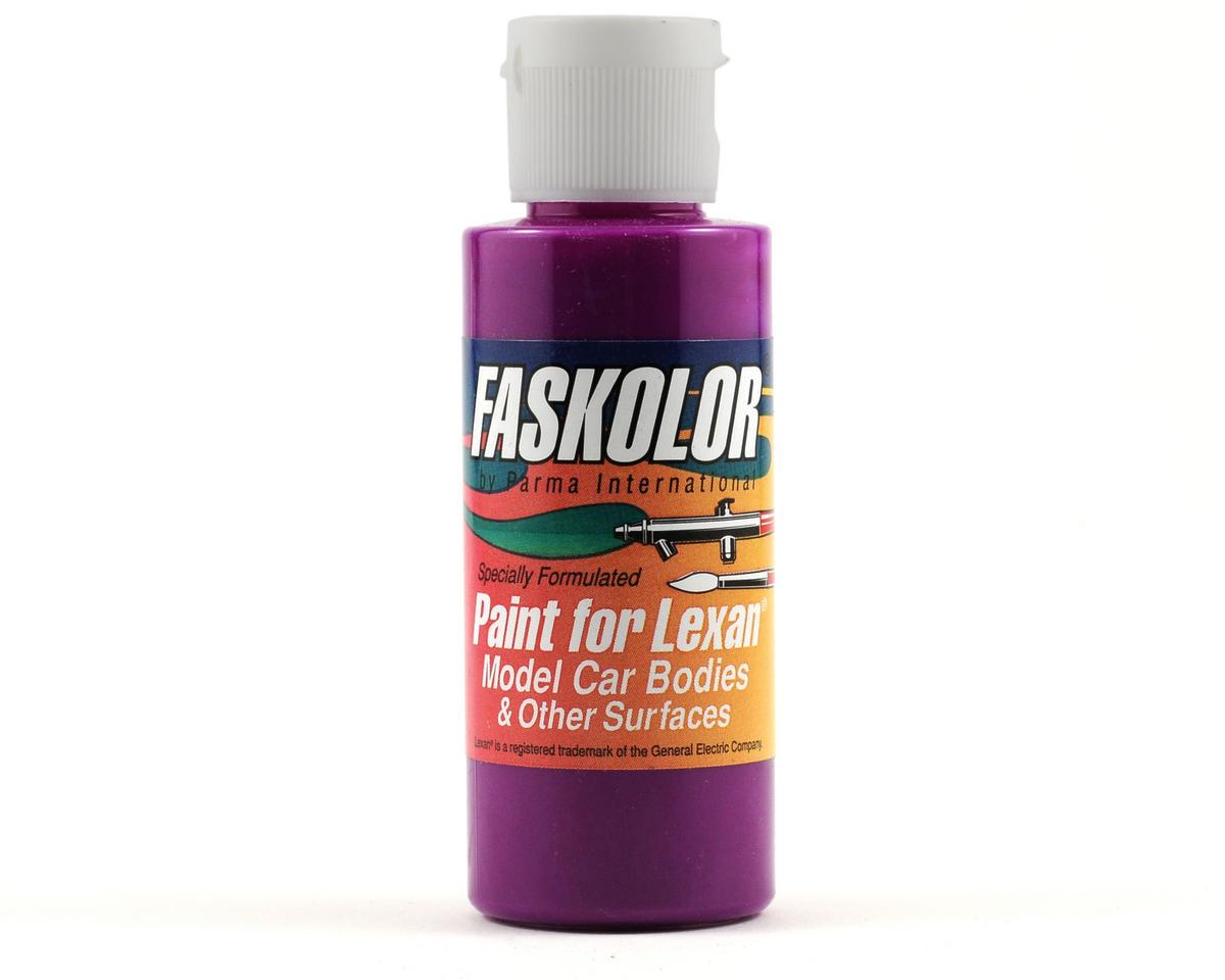 Parma PSE FasFluorescent Violet Faskolor Lexan Body Paint (2oz)