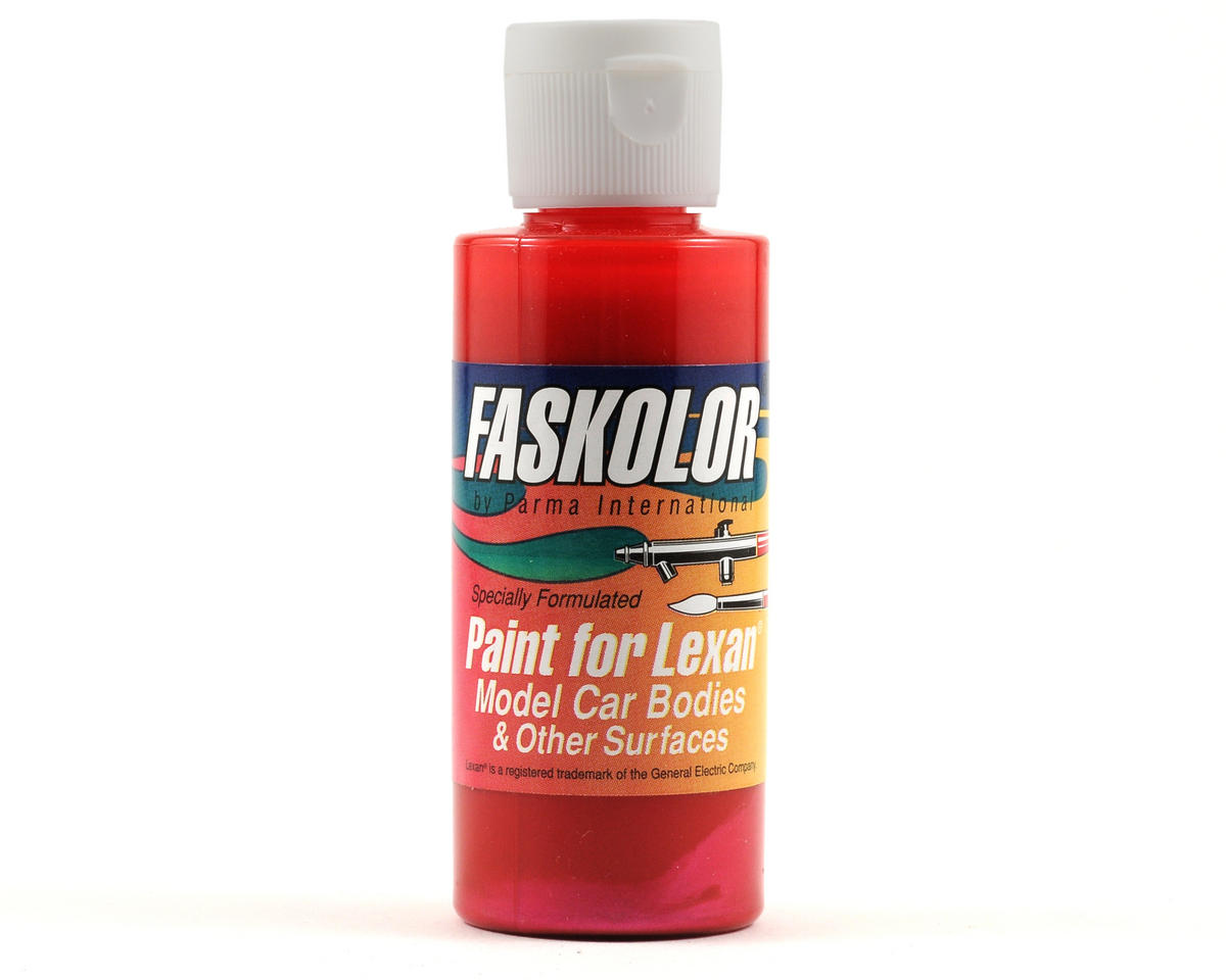 Parma PSE Fasescent Red Faskolor Lexan Body Paint (2oz)