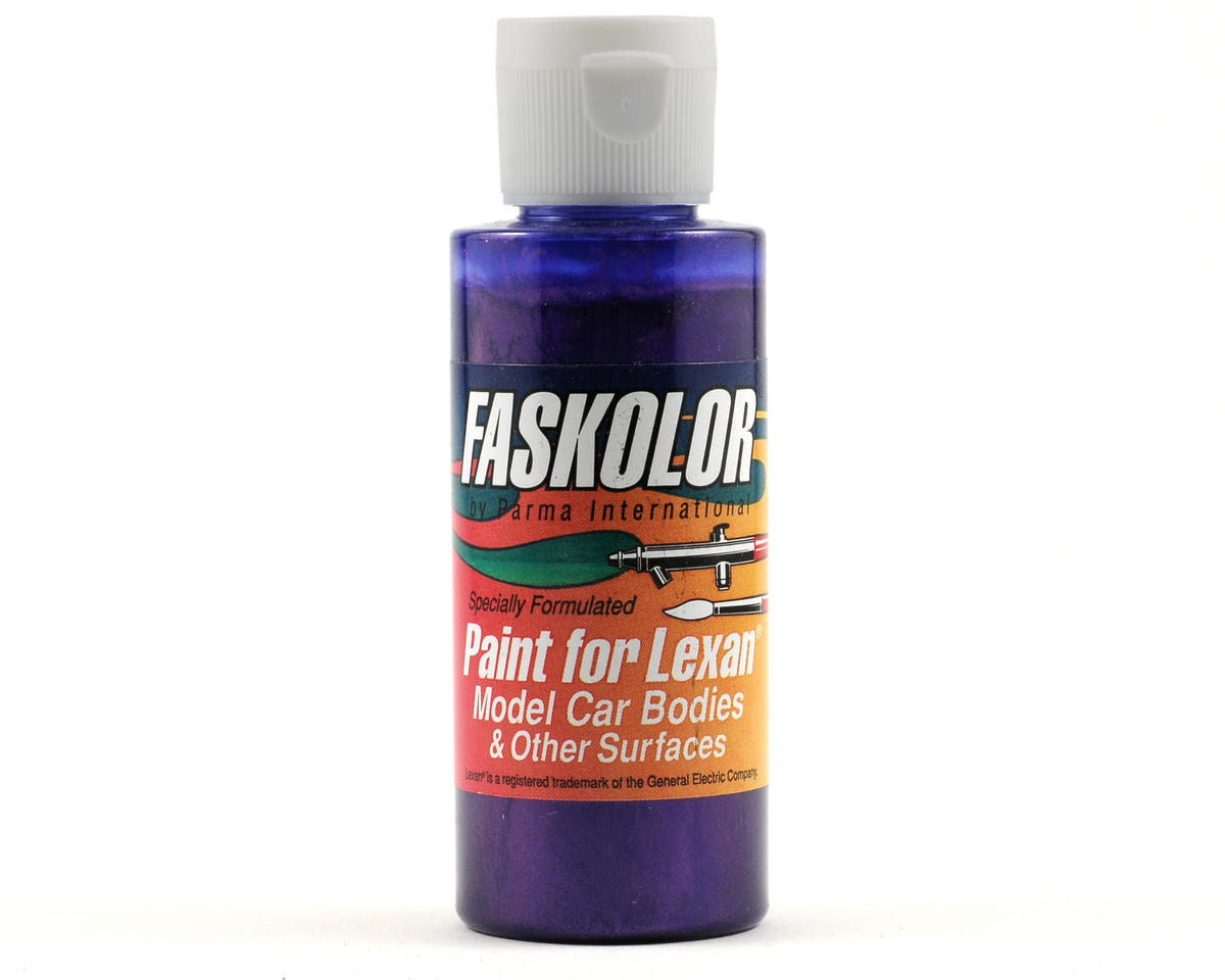Parma PSE Fasescent Purple Faskolor Lexan Body Paint (2oz)