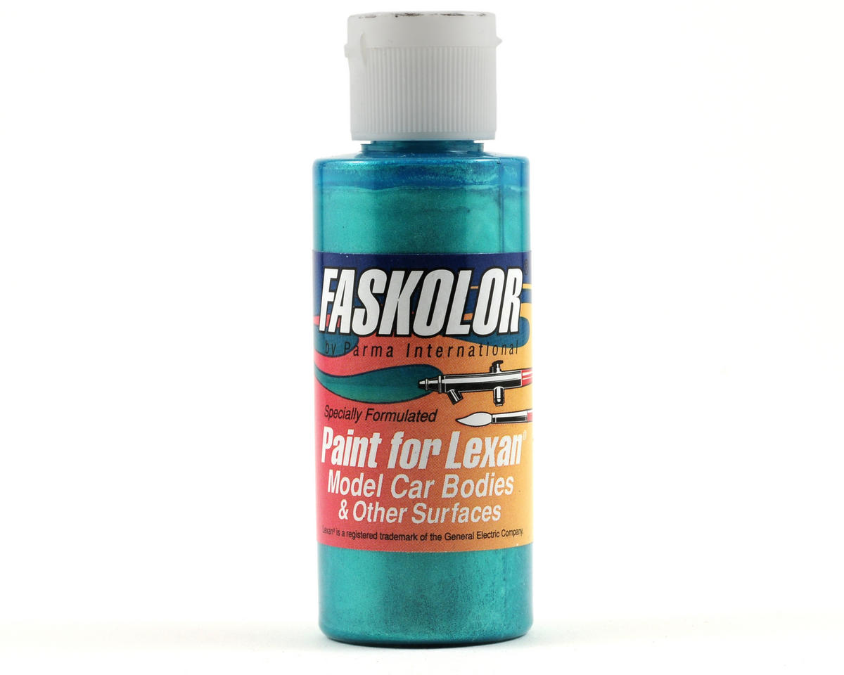 Fasescent Teal Lexan Body Paint (2oz) by Parma PSE
