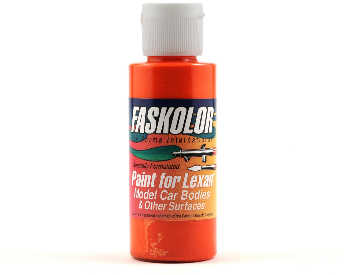 Parma PSE FasPearl Orange Lime Faskolor Lexan Body Paint (2oz)