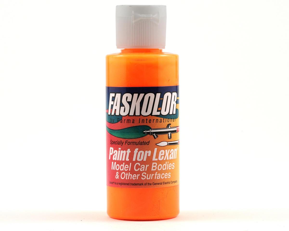Parma PSE FasFluorescent Flaming Orange Faskolor Lexan Body Paint (2oz)