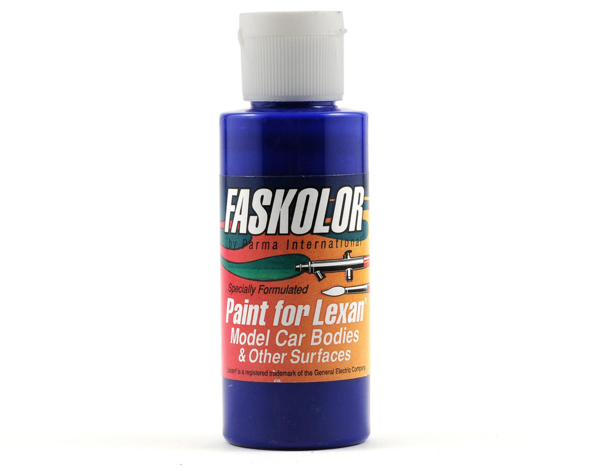 SCRATCH & DENT: Parma PSE FasLucent Blue Faskolor Lexan Body Paint (2oz)