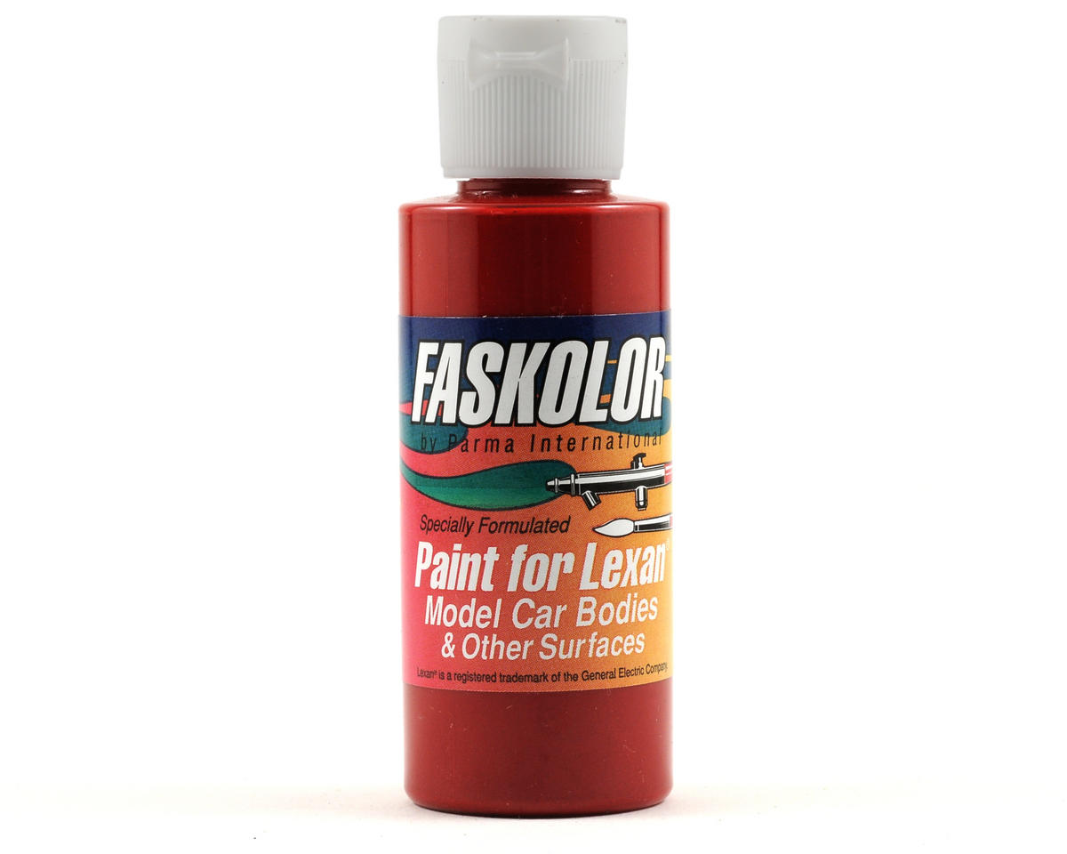 Parma PSE FasLucent Red Faskolor Lexan Body Paint (2oz)