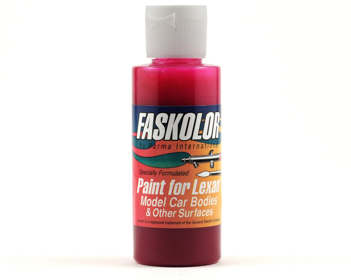 FasLucent Pink Faskolor Lexan Body Paint (2oz) by Parma PSE