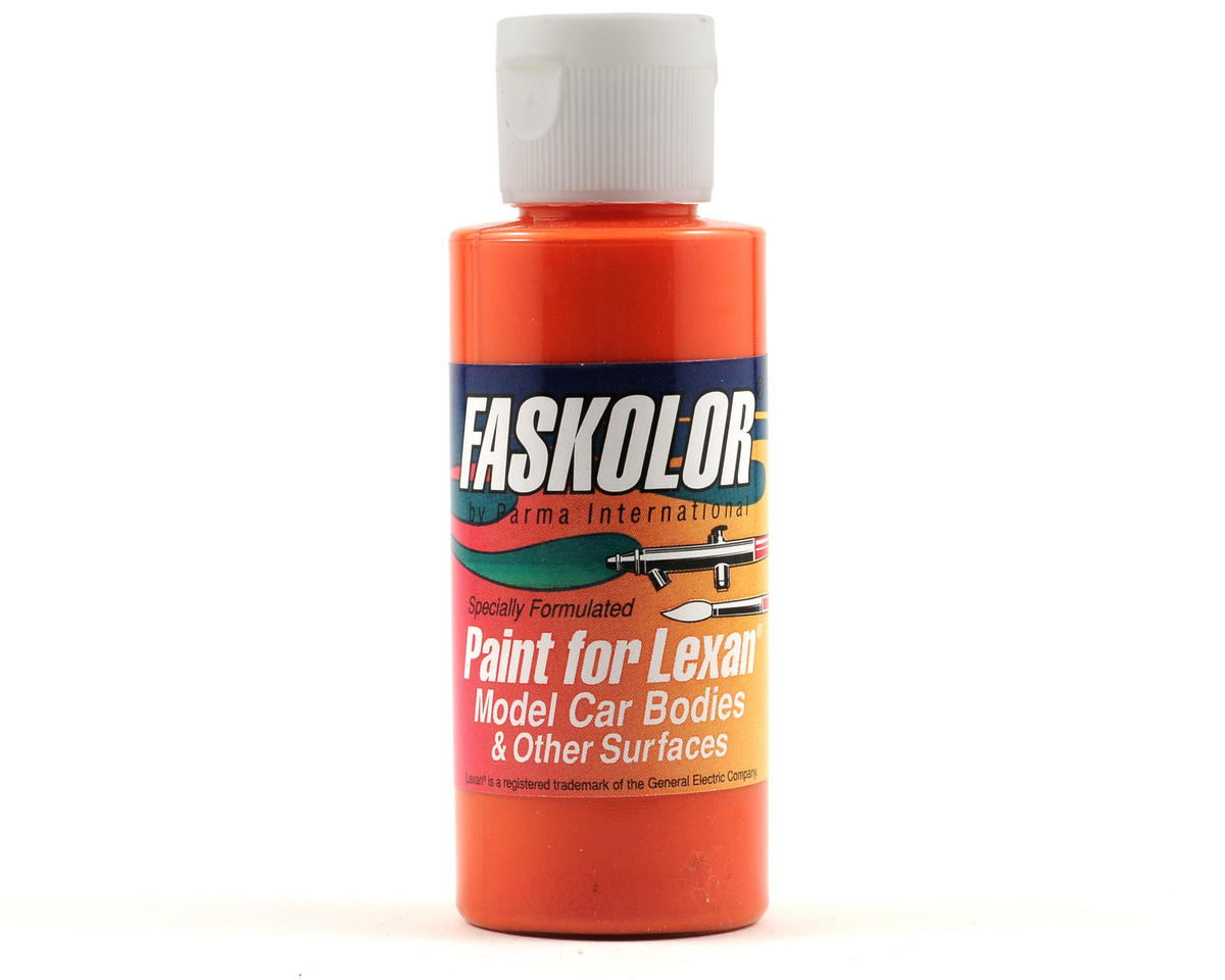 Parma PSE FasLucent Orange Faskolor Lexan Body Paint (2oz)