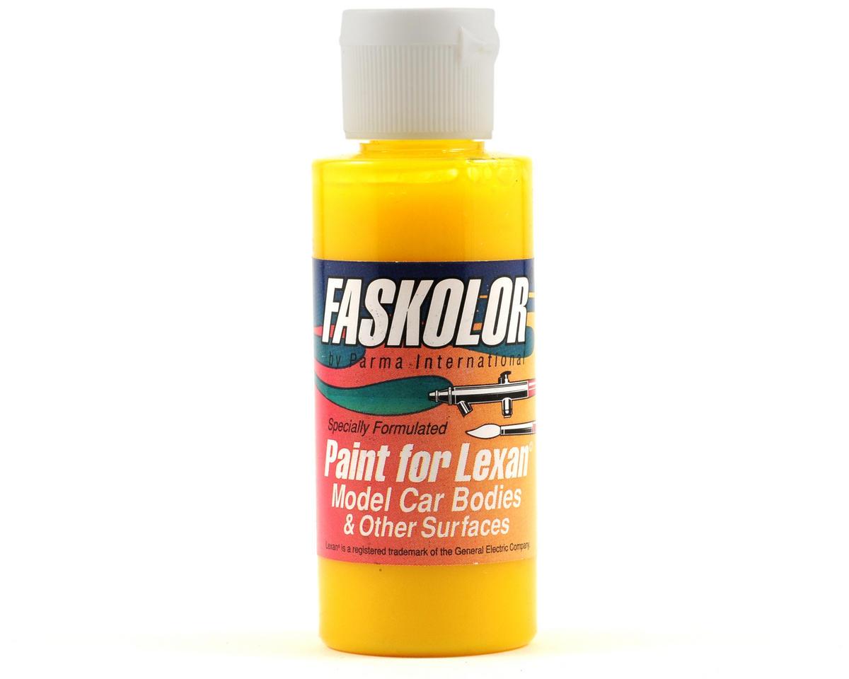 Parma PSE FasLucent Yellow Faskolor Lexan Body Paint (2oz)