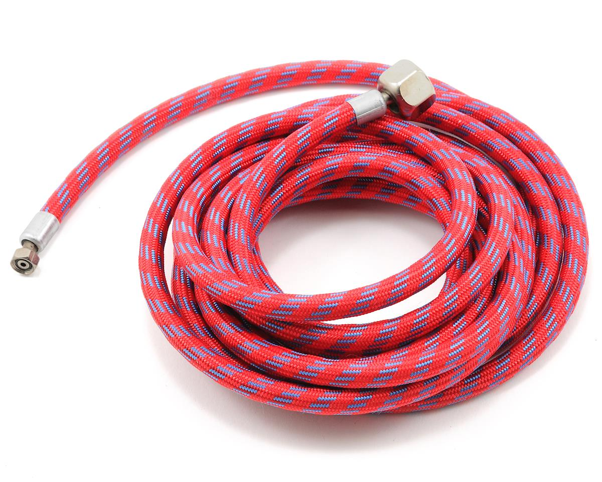 Braided Air Hose w/Coupling (10')