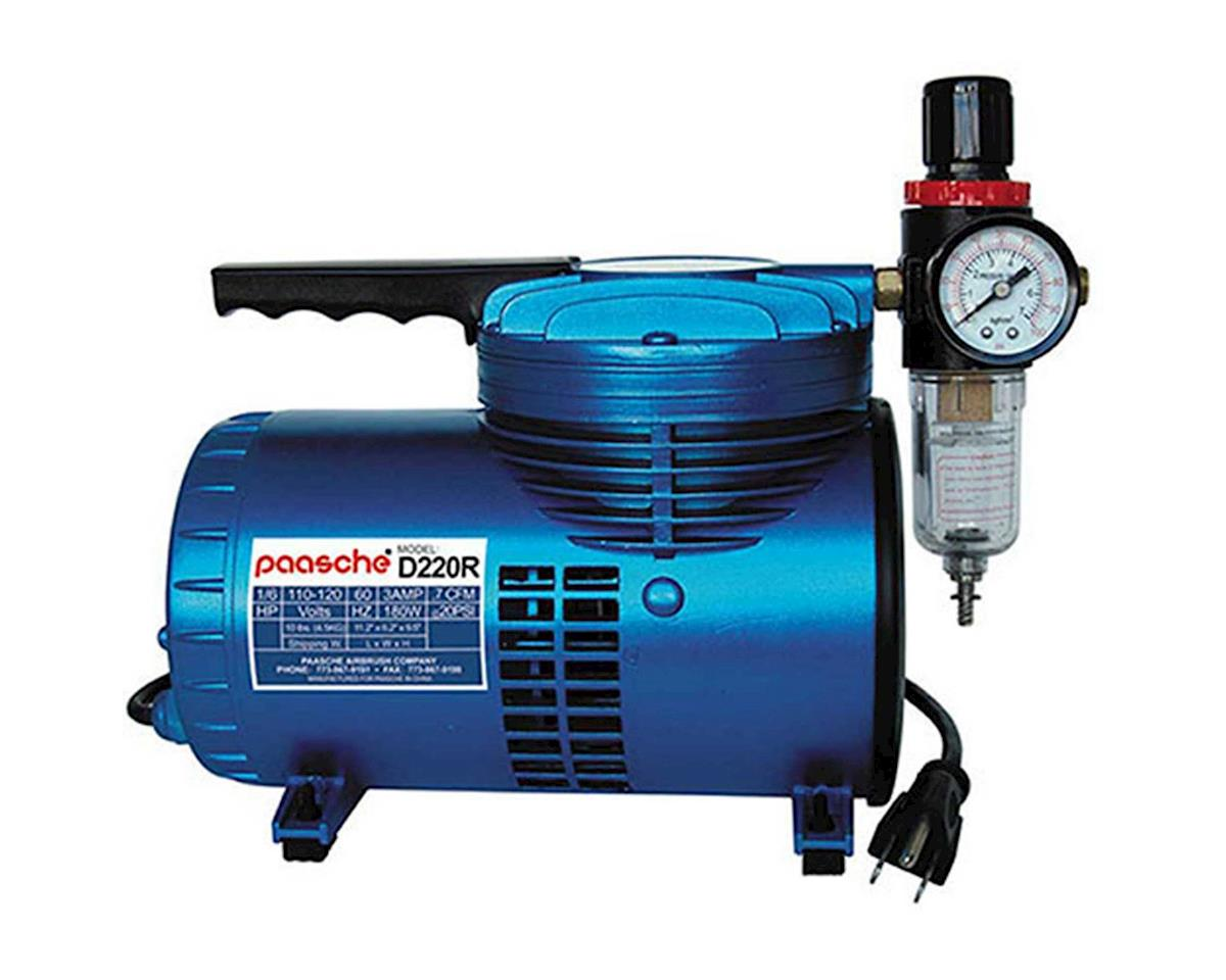 Paasche 1/6 HP Diaphragm Compressor