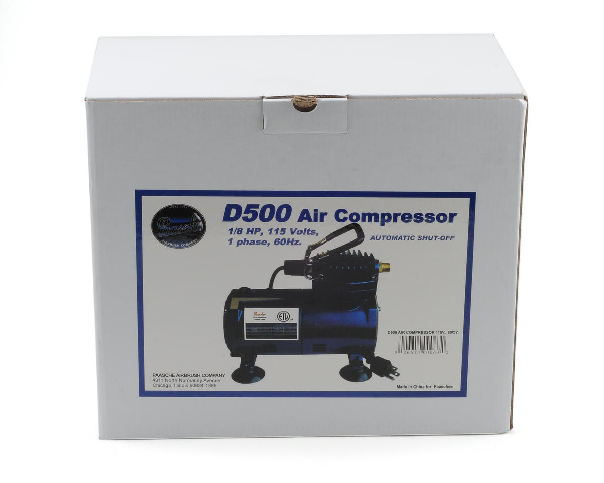 D500 Compressor by Paasche