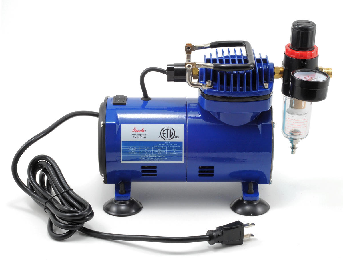 Paasche D500 Compressor w/R75 Regulator
