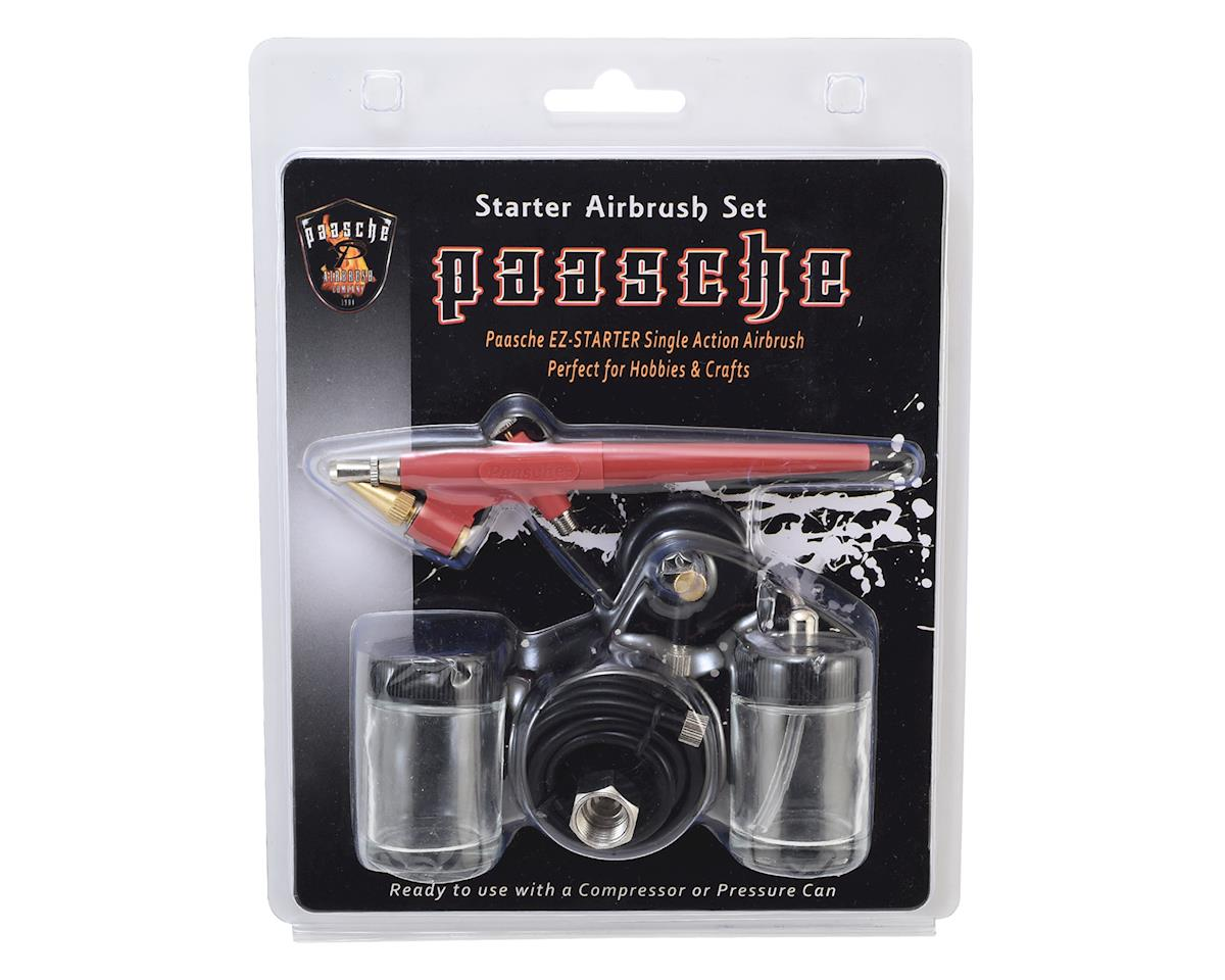 Paasche EZ-STARTER Single Action Airbrush Kit (Great for Beginners)