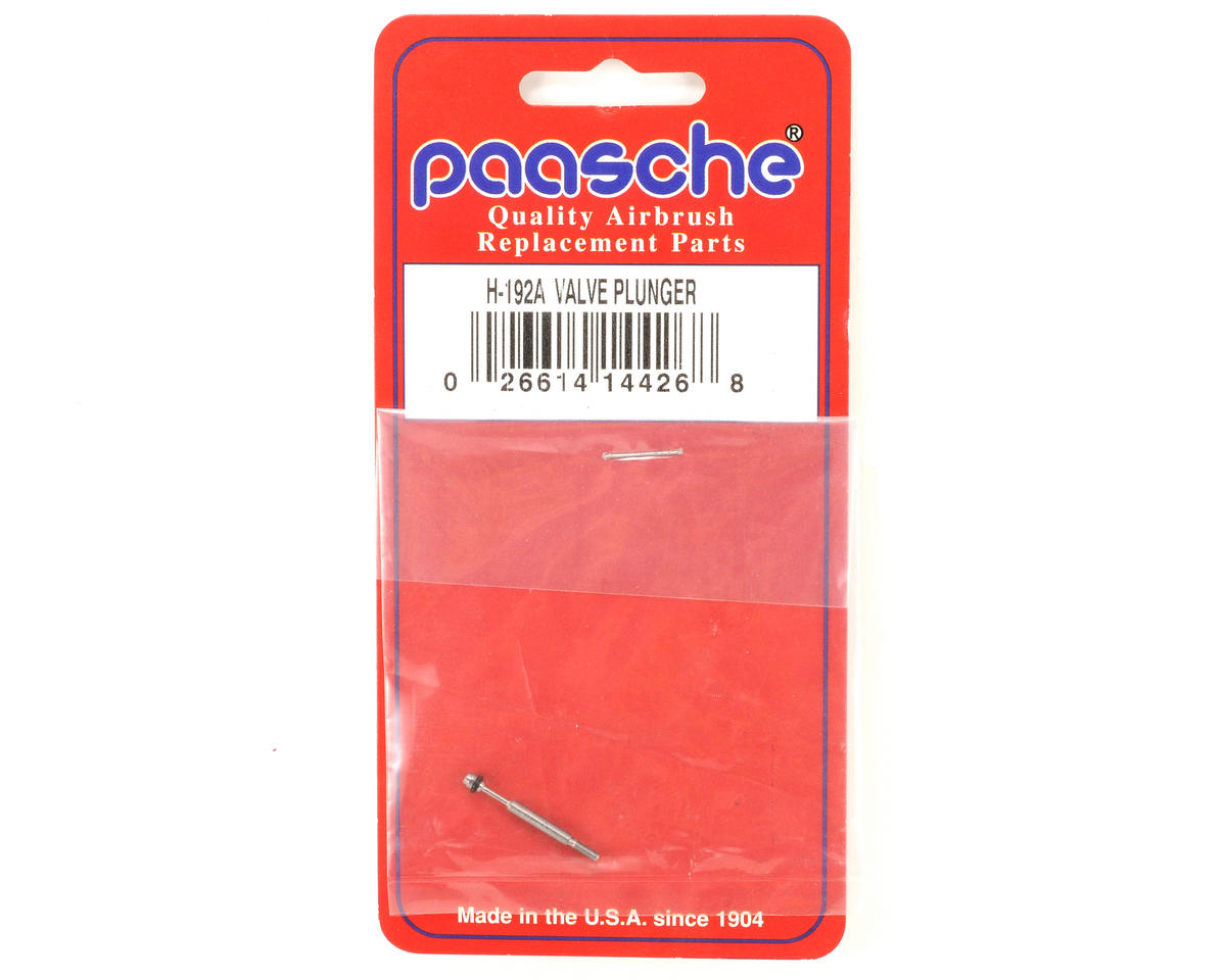 Paasche H Series Valve Plunger w/O-Ring (New Style)