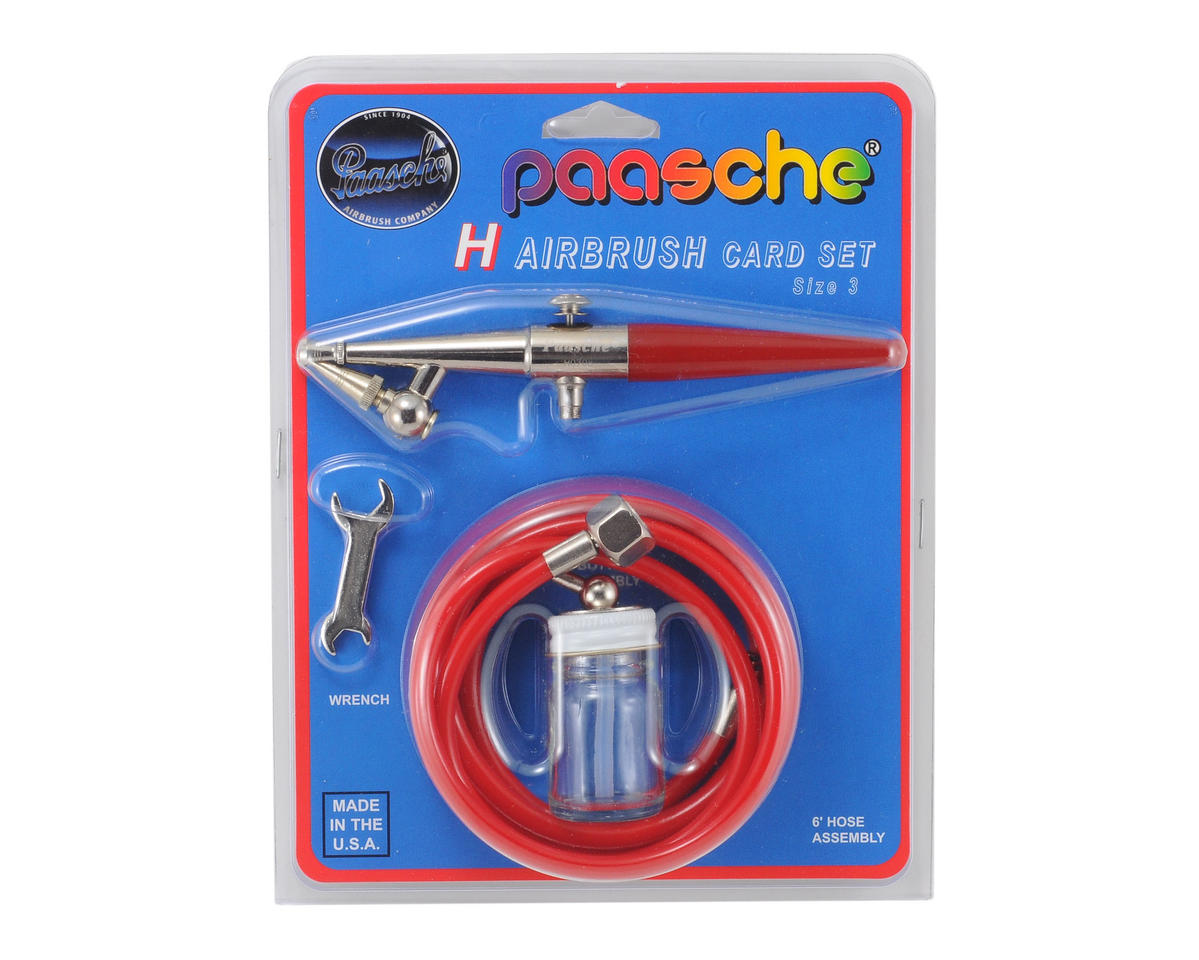 Paasche H Series Airbrush with 4 Access Card
