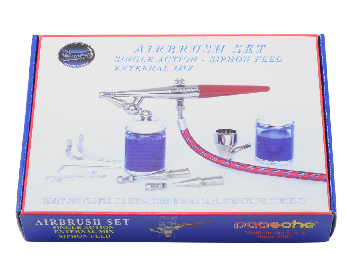 Paasche H Series Airbrush Set
