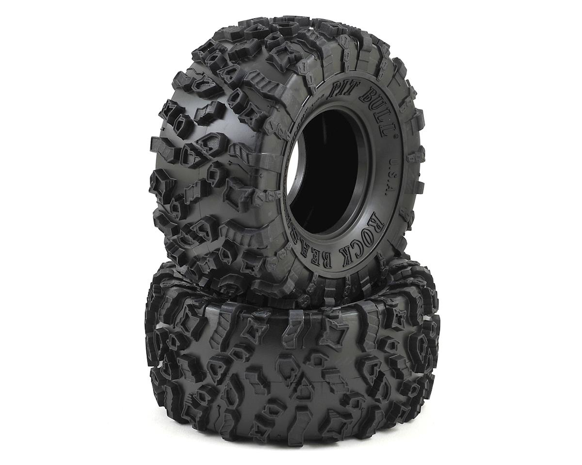 Rock Beast XOR 2.2 Crawler Tire (2) (No Foam) (Komp) by Pit Bull Tires