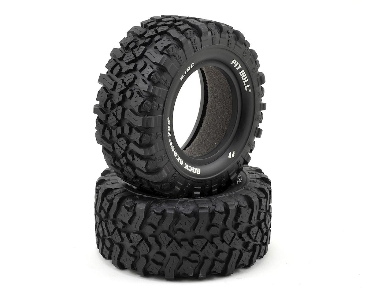"Pit Bull Tires Rock Beast XOR 2.2/3.0"" SC Tires (2) (Basher) 