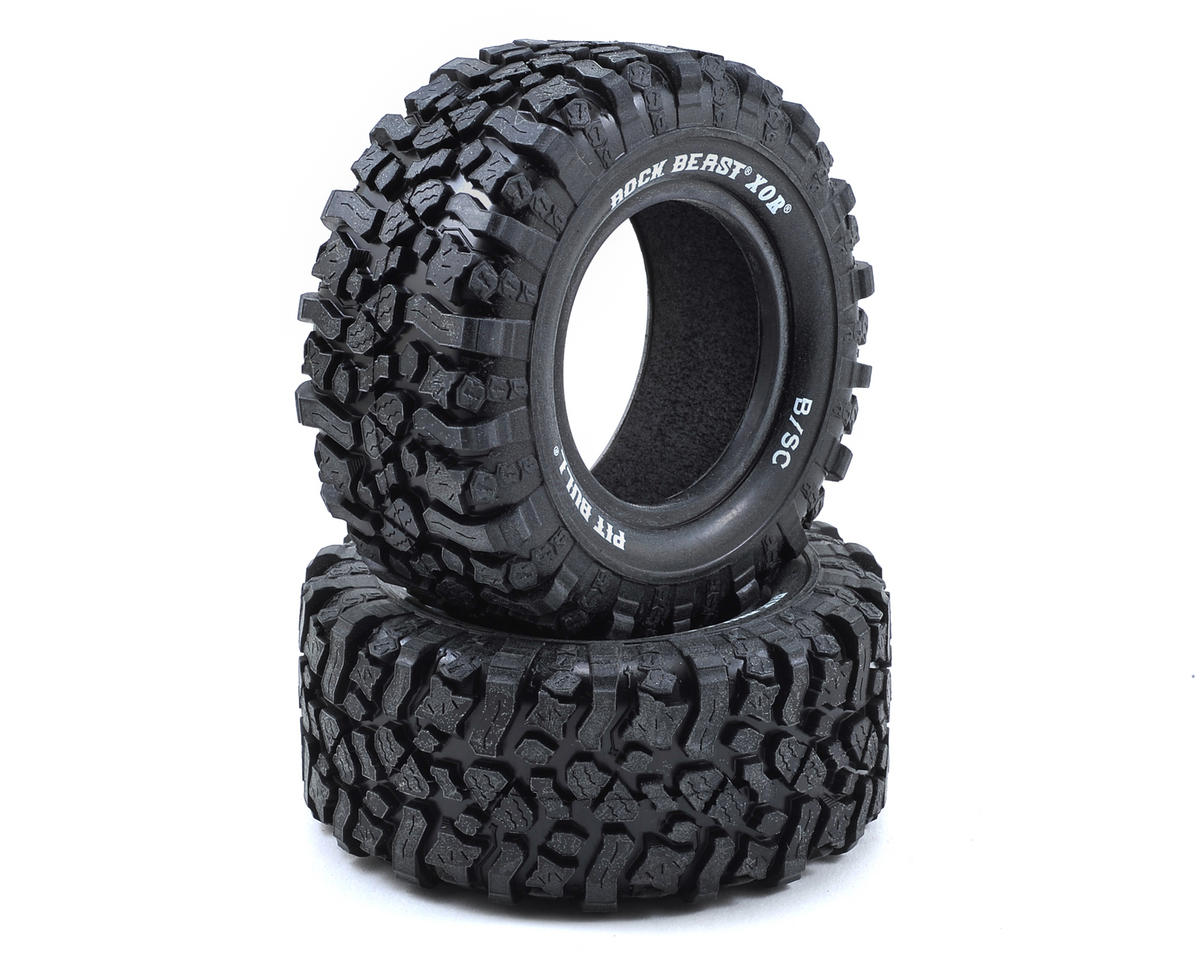 "Pit Bull Tires Rock Beast XOR 2.2/3.0"" SC Crawler Tires (2) (Komp Kompound)"