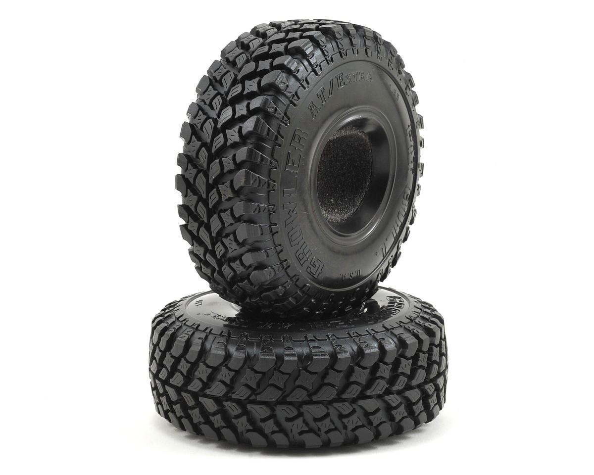"Pit Bull Tires Growler AT/Extra 1.55"" Scale Rock Crawler Tires (2)"