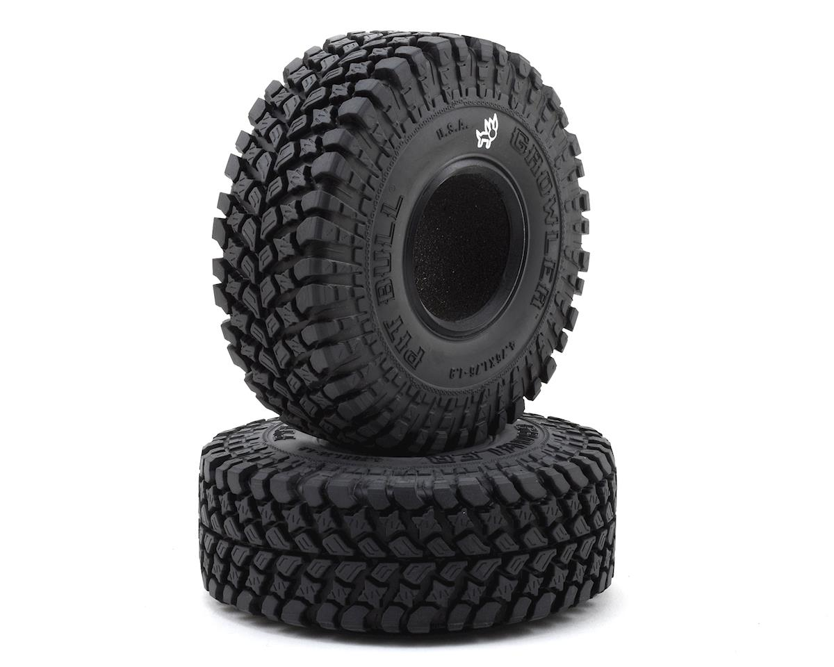 "Pit Bull Tires Growler AT/Extra 1.9"" Scale Rock Crawler Tires (2) (Alien)"