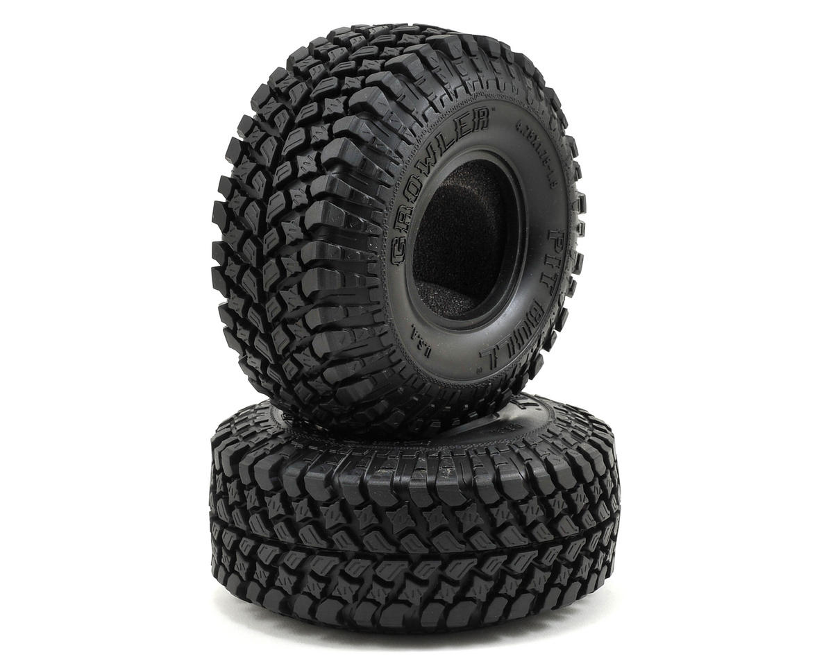 "Growler AT/Extra 1.9"" Scale Rock Crawler Tires (2) (Komp) by Pit Bull Tires"