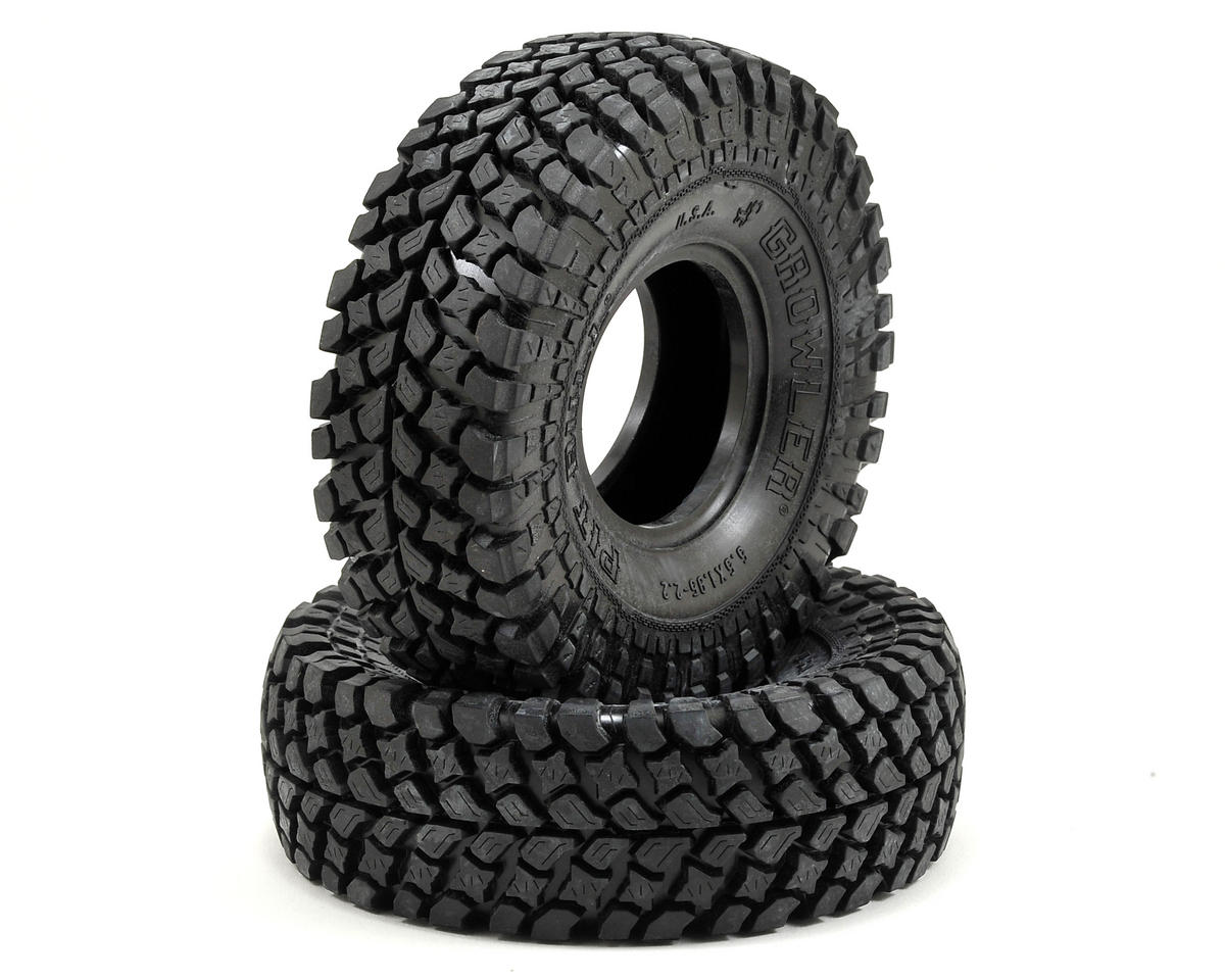 "Pit Bull Tires Growler AT/Extra 2.2"" Scale Rock Crawler Tires (2) (PAP)"