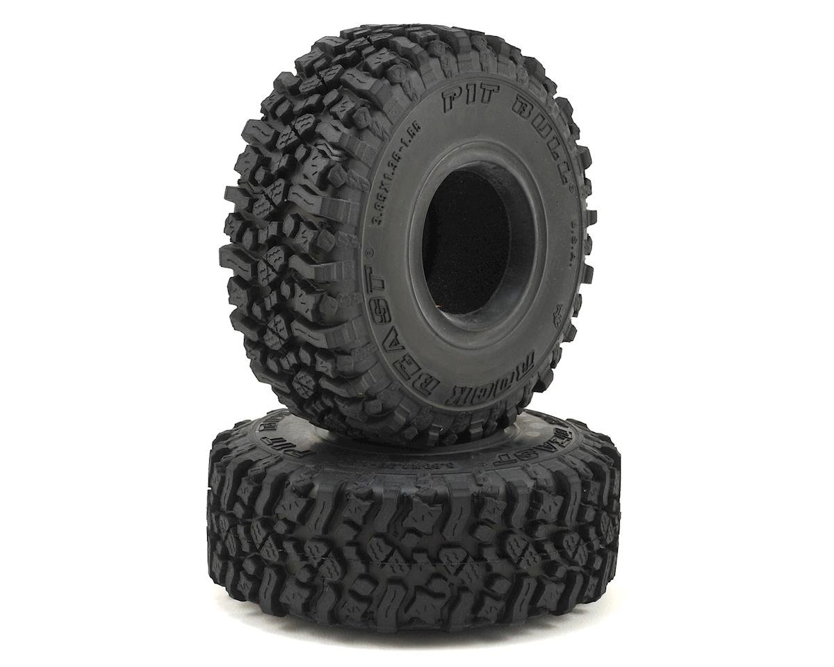 "Rock Beast 1.55"" Scale Rock Crawler Tires w/Foams (2) (Alien)"