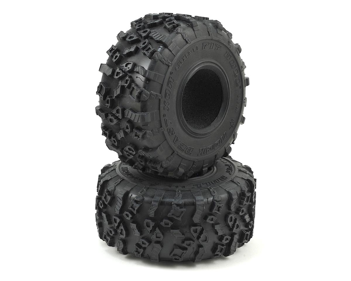 Pit Bull Tires Rock Beast XOR 1.9  Crawler Tires w/Foam (Alien)