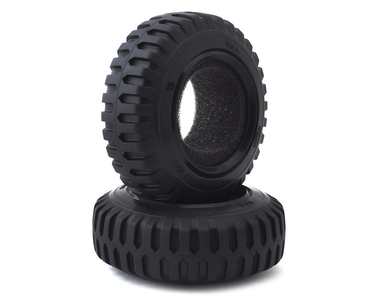 Pit Bull Tires 1.9 Scale Temco NDT Military Tires (2) (Alien Kompound)
