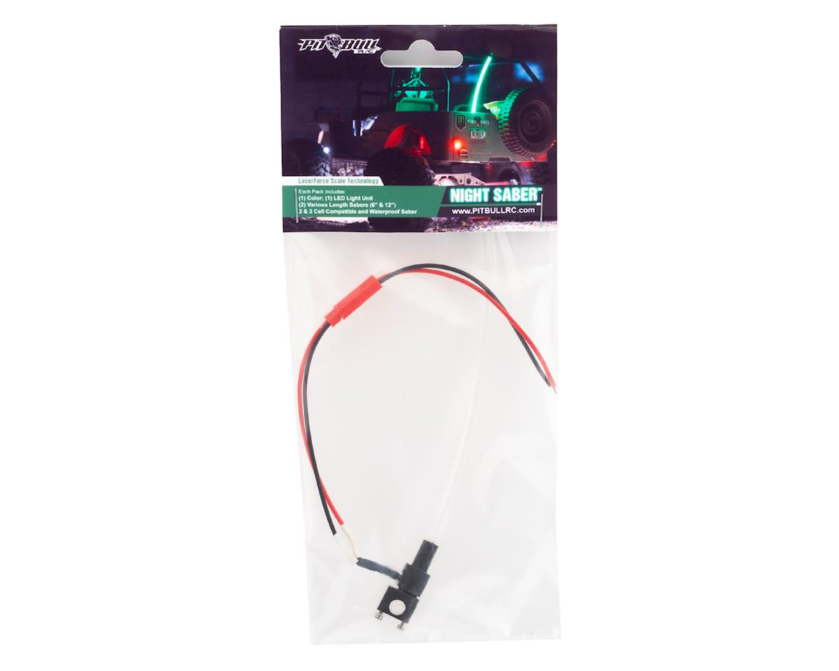 Pit Bull Tires Night Saber LED Light (Red)