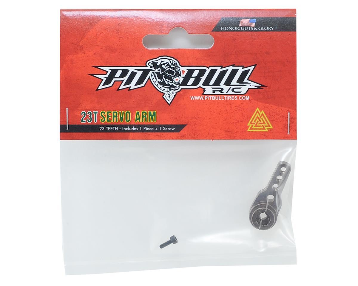 Pit Bull Tires PBX Aluminum Servo Arms (23T-JR/Airtronics/KO)