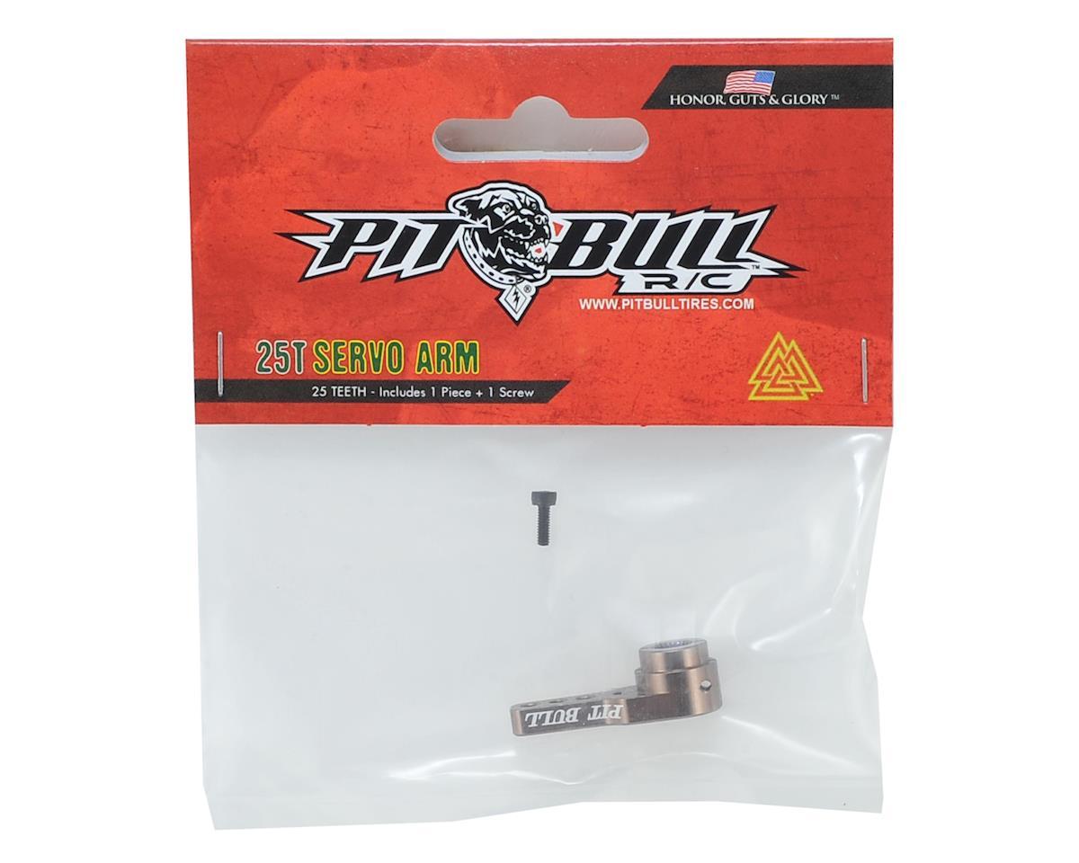 Pit Bull Tires PBX Aluminum Servo Arm (25T-ProTek/Savox/Futaba)