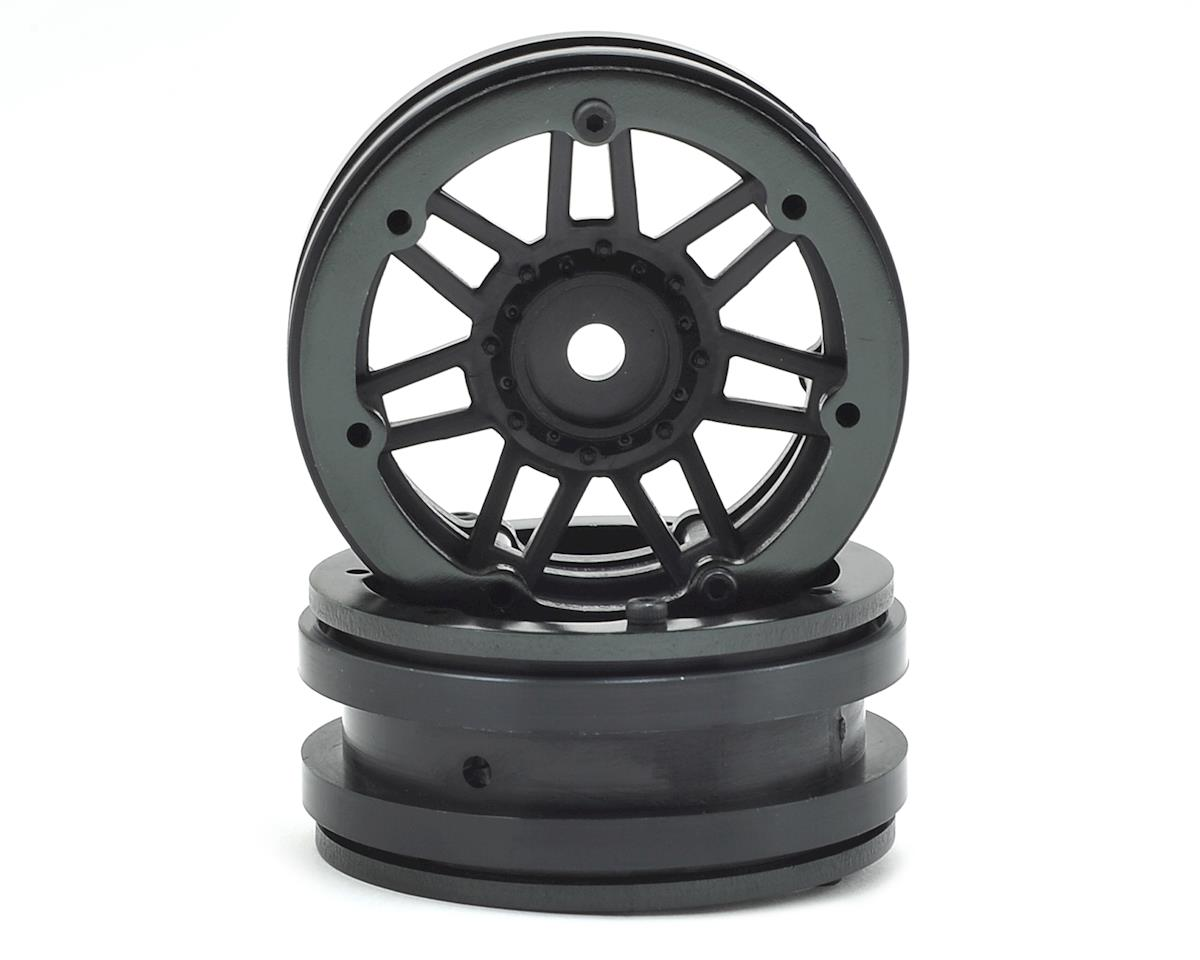 "Raceline #931 Injector 1.9"" Beadlock Wheel (Black/Black) (2) by Pit Bull Tires"